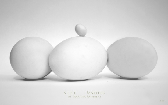 size matters by Martina Rathgens, Flickr