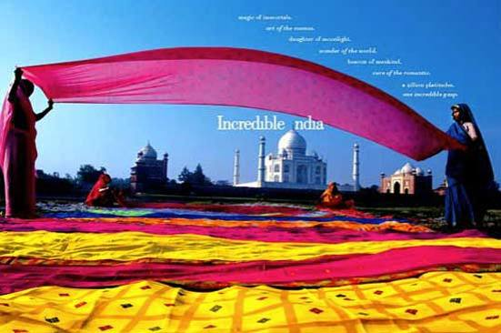 Incredible India Taj Mahal Cloths
