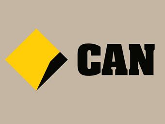 Commonwealth Bank Logo & Can