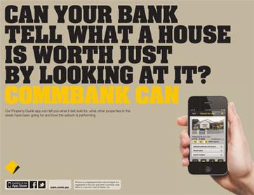 Commbank Can Property Guide App Ad