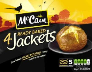 McCain Ready Baked Jackets Pack