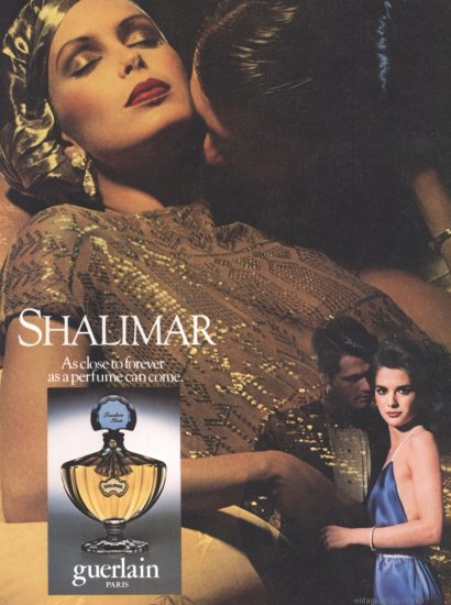 Shalimar Print Ad 1982