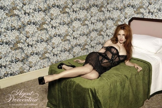 Agent Provocateur 2011 Spring ad
