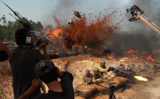 Battle Scenes #2 by Jonathan Kos-Read, Flickr