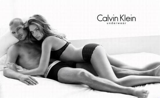 Calvin Klein underwear ad