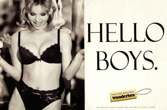 Wonderbra Hello Boys ad