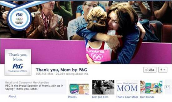 P&G Thank you Mom 2012