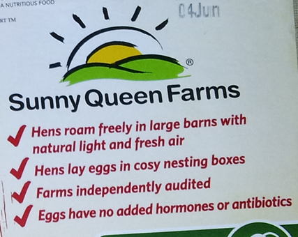 Sunny Queen Cage Free Claims