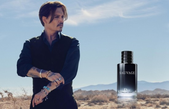 Johnny Depp Sauvage Dior Fragrance Campaign