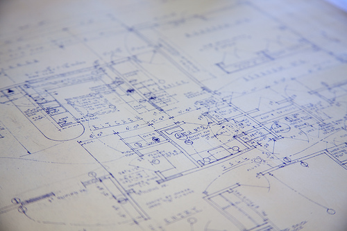 Blueprint by Will Scullin, Flickr